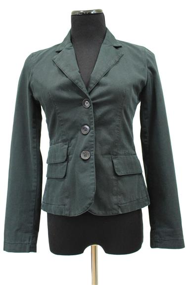 Black Cotton Fully Lined Jacket Size 4