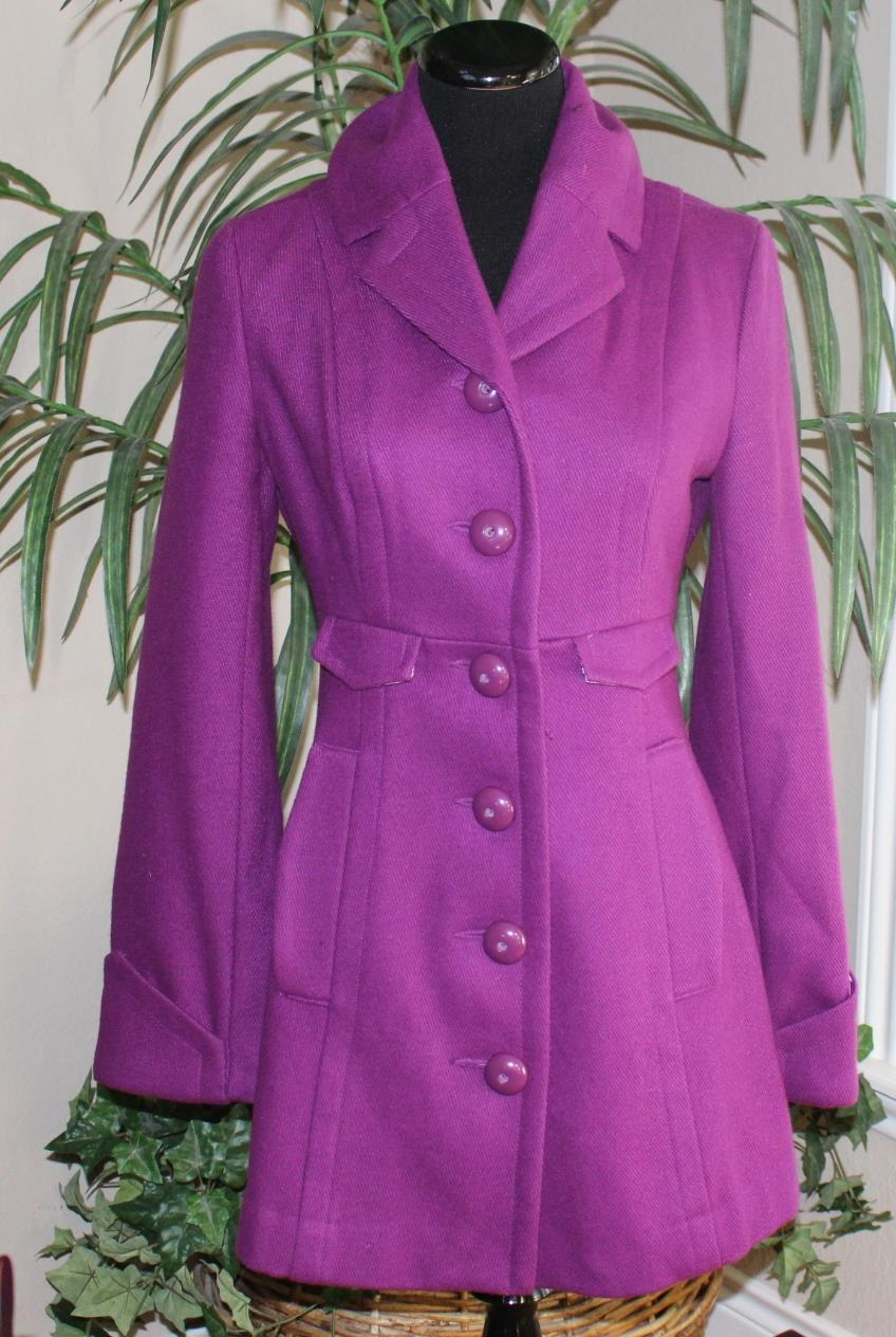 Purple Dress Coat